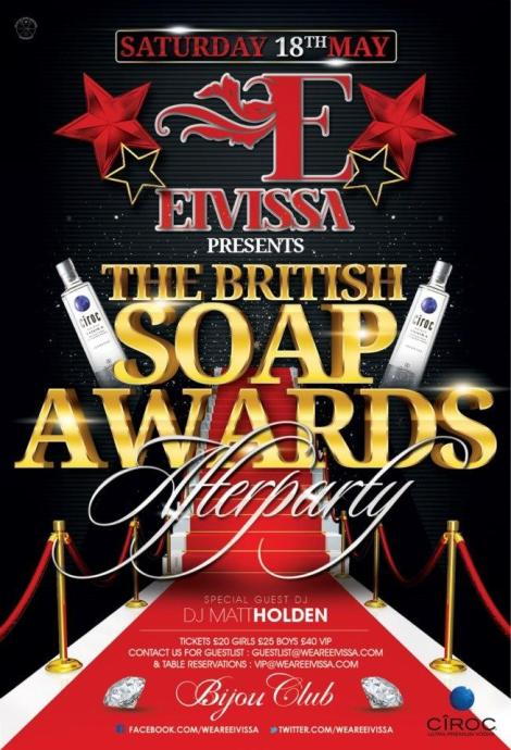 Soap Awards Afterparty 2013