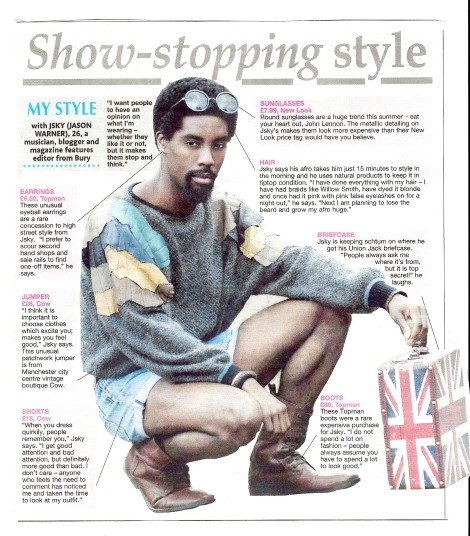 Jsky - My Style - Bury Times Weekend Magazine Thu27June2013