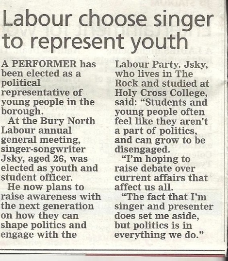 Labour Jsky Bury Times - March 14